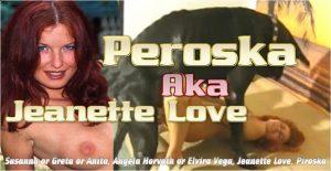 Peroska Aka Jeanette Love